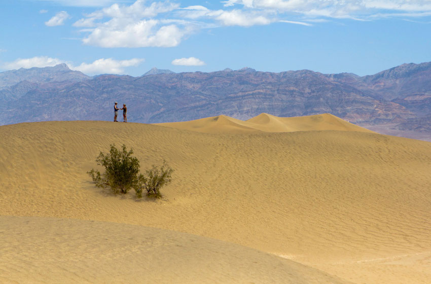 Mirties slėnis - Moskito kopos JAV