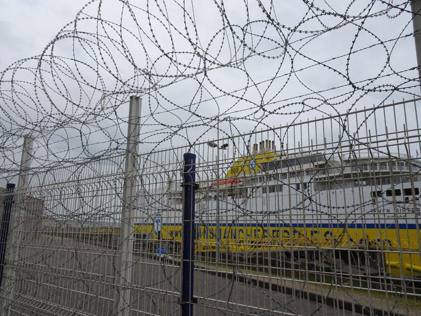 Le port et le transManche