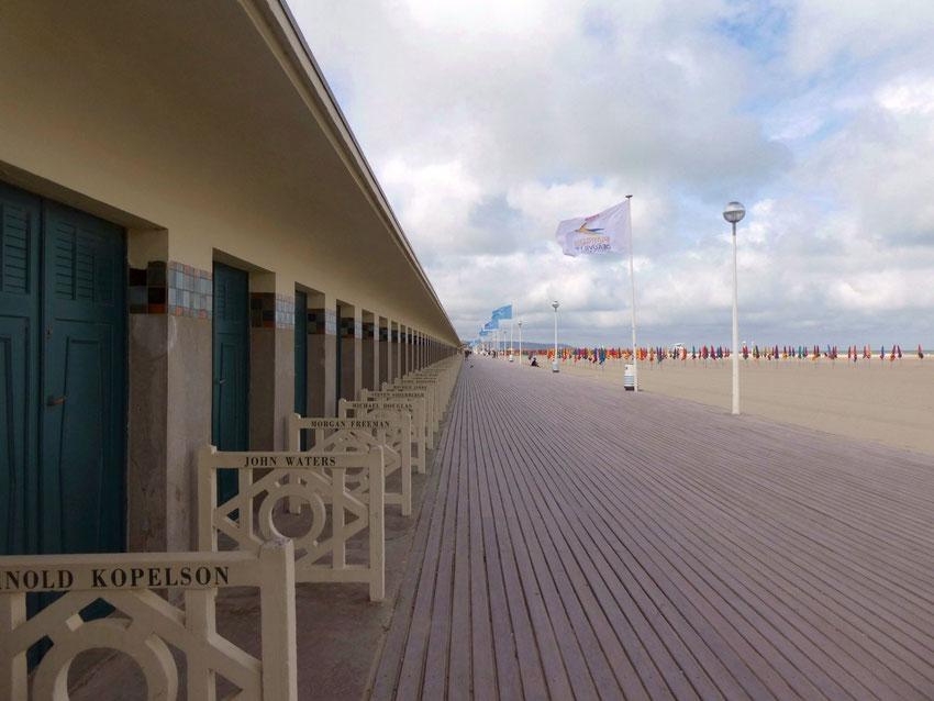 Les planches les plus célèbres du monde Deauville