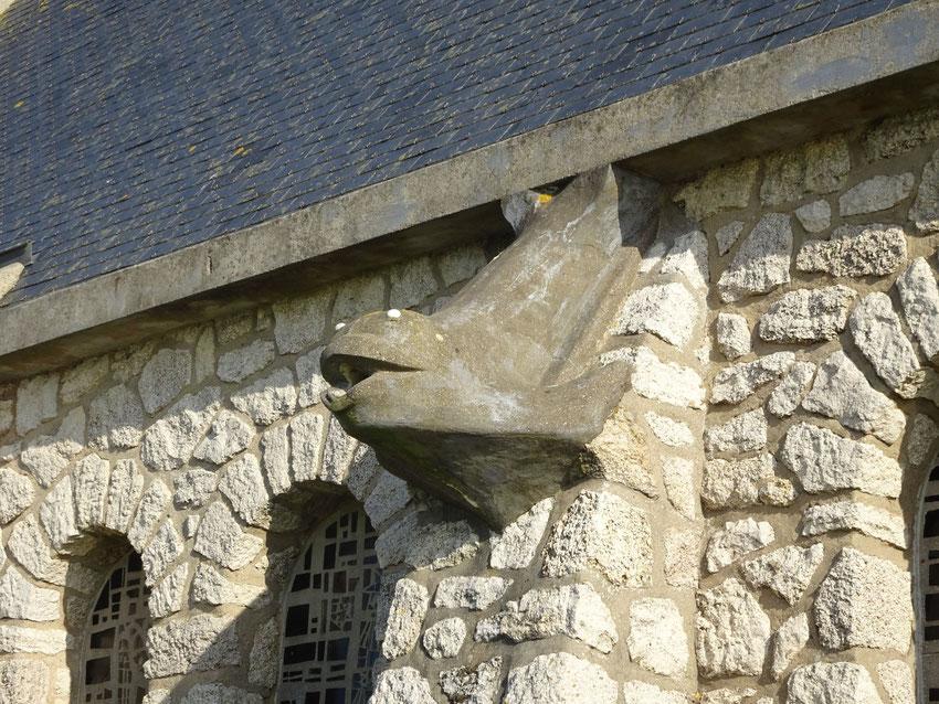 Gargouille chapelle d'Etretat