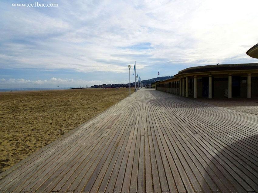 Les planches, Deauville