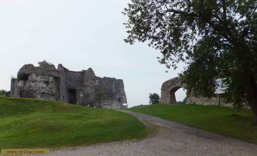 Entrée du château d'Arques-la-Bataille