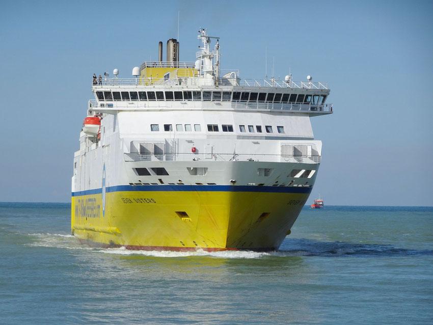 Le Transmanche arrive à Dieppe