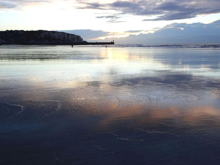 Marée basse à Mers