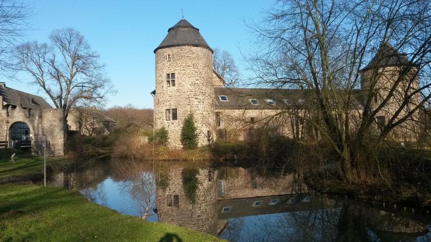 Ratingens Keimzelle: Wasserburg Haus zum Haus
