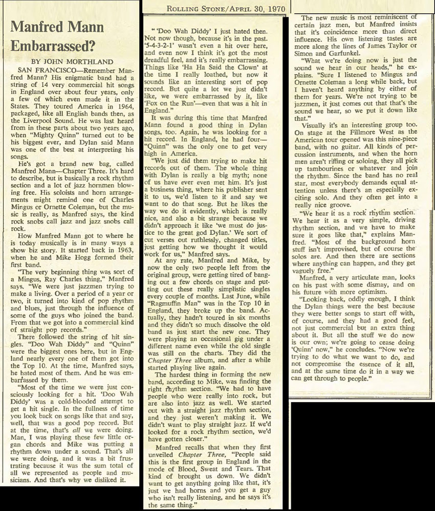 Rolling Stone (US) - Chapter 3 article 1970