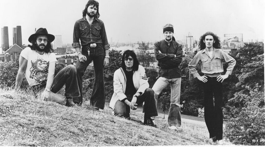 Manfred Mann's Earth Band 1976 Publicity Photo