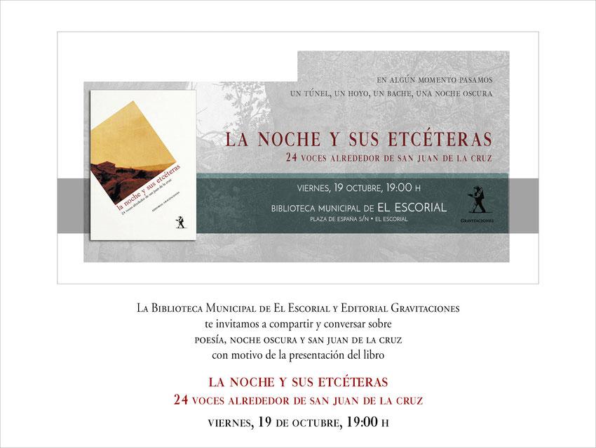 La noche y sus etcéteras: 24 voces alrededor de san Juan de la Cruz