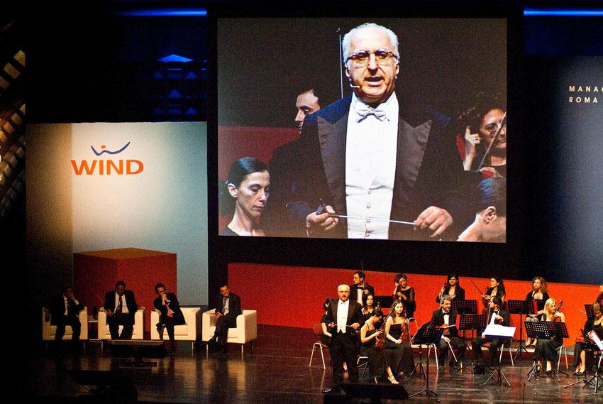 Wind International Meeting - Roma - Auditorium della Conciliazione - Evento spettacolo con Orchestra Nova Amadeus