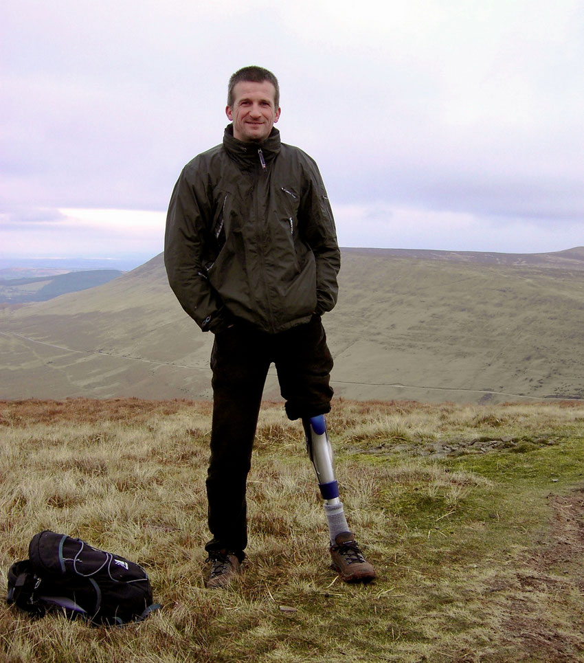 My first walk in the hills after my amputation: Hay Bluff and Lord Hereford's Knob in the Brecon Beacons