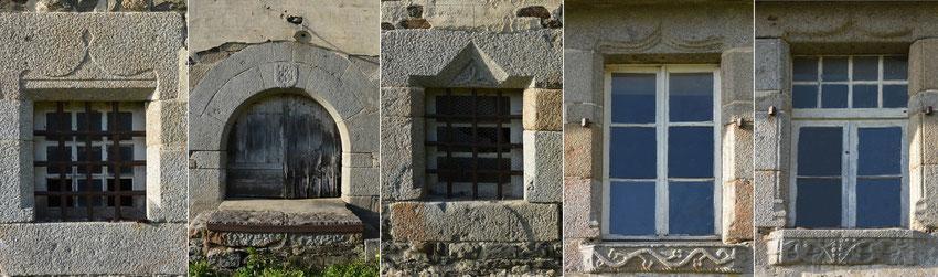 Photo - Ouvertures sculptées moulin de l'Isle