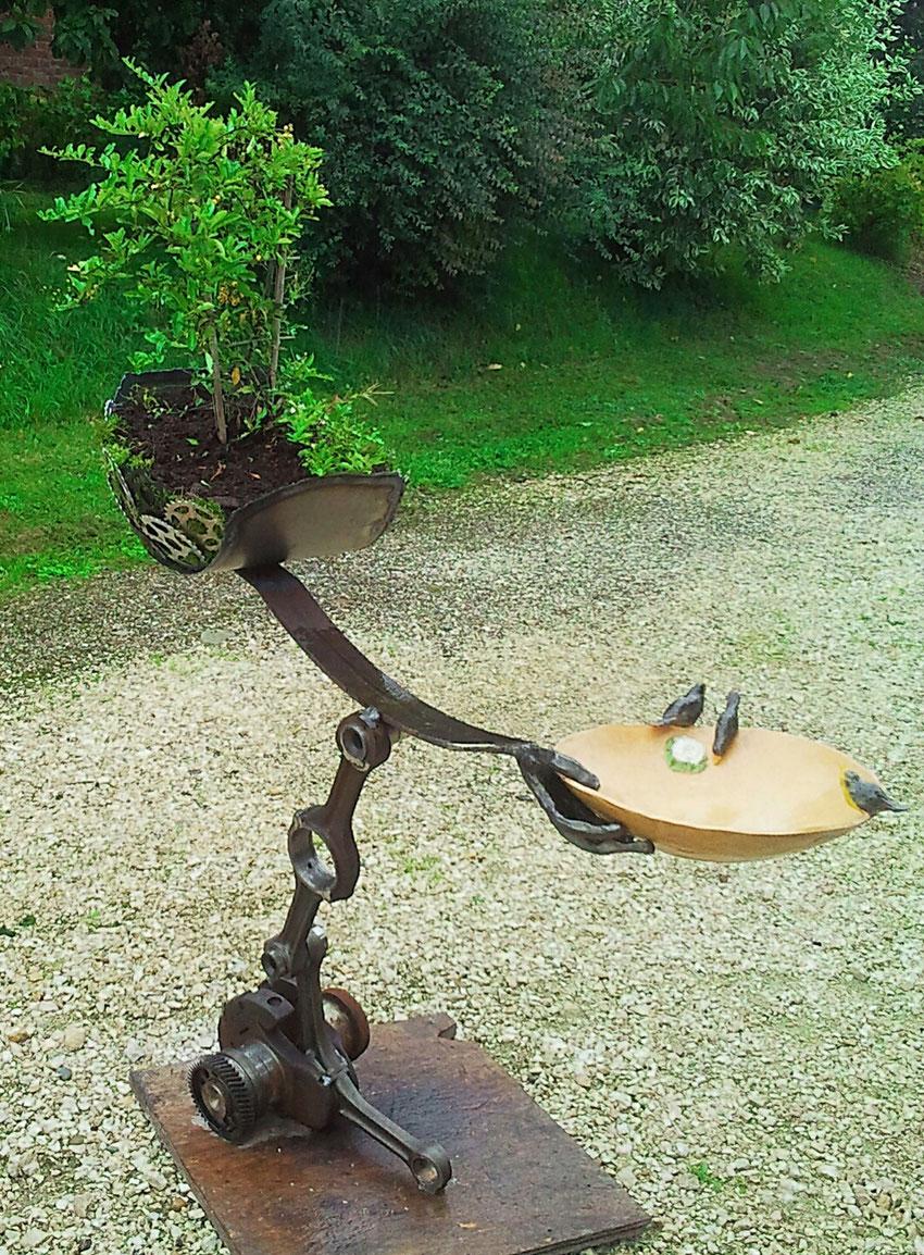 Vogeltränke - Telchinen - Schmiede
