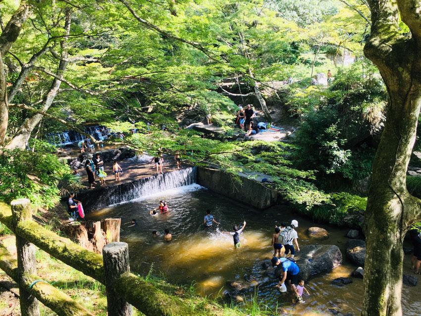 岩屋堂公園|愛知県瀬戸市|水遊び