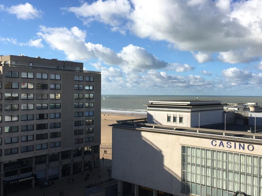 la vue de la terrasse de l'appartement