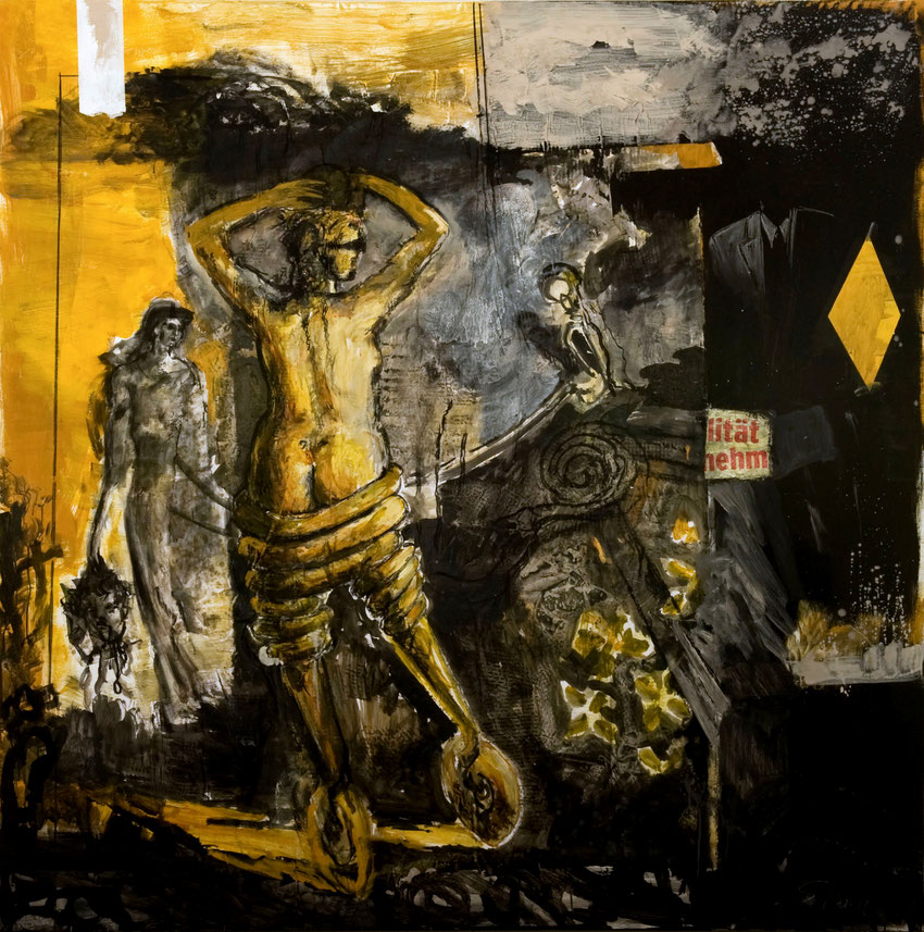 Holofernes · 2012 · 1.900 x 1.900 mm · Öl auf Leinwand