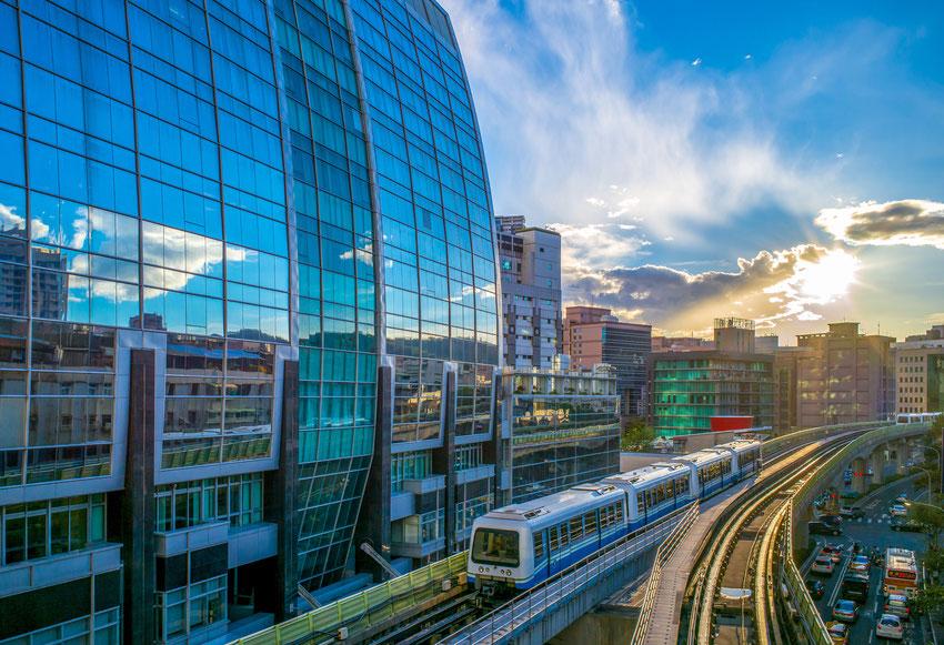 Die Taipei-U-Bahn-Linie 1  Quelle: Shutterstock