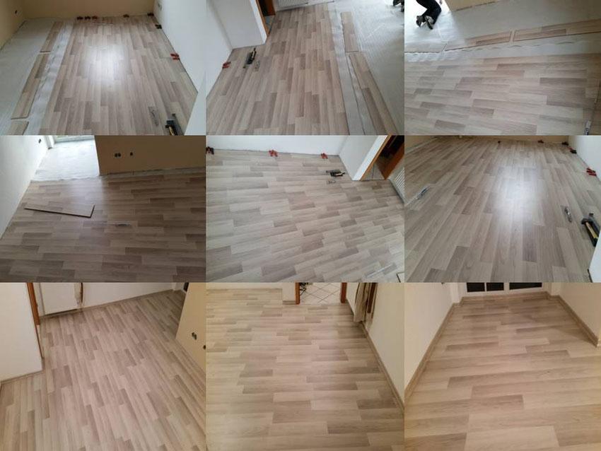 Projekte,Parkett-Boden,Design Vinyl Belag,Laminat,Fertigparkett ...