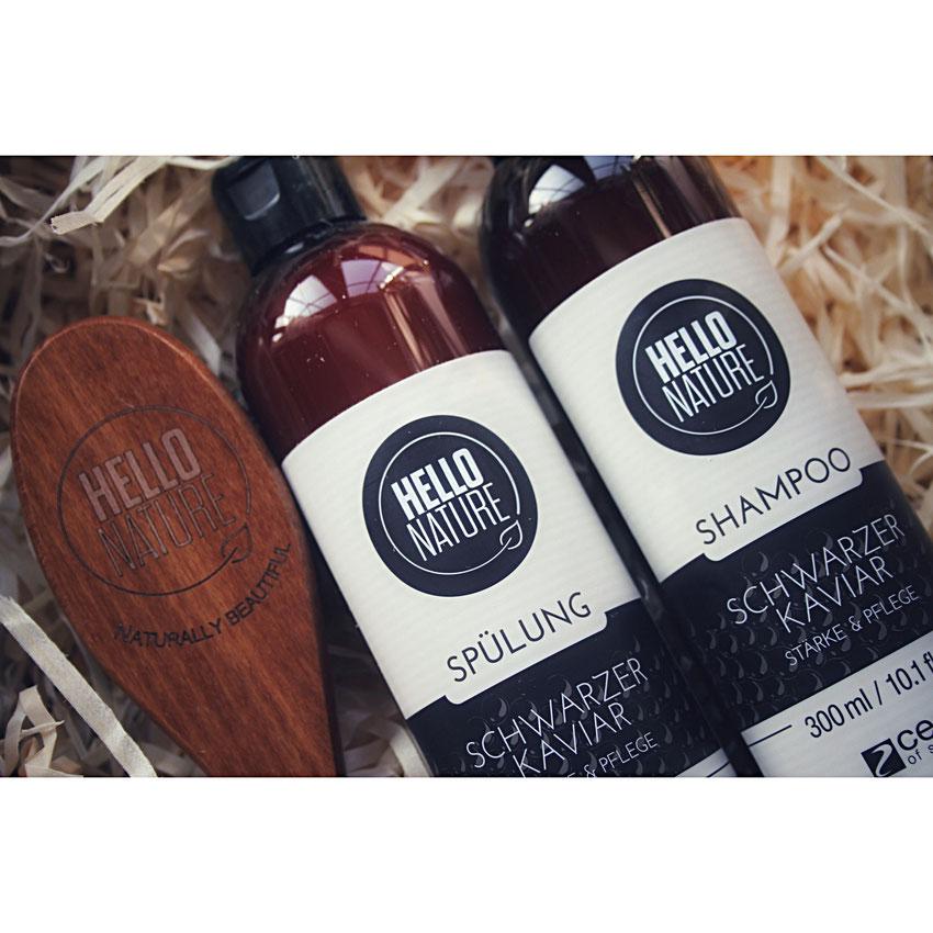 Hello Nature - Schwarzer Kaviar Shampoo und Spülung
