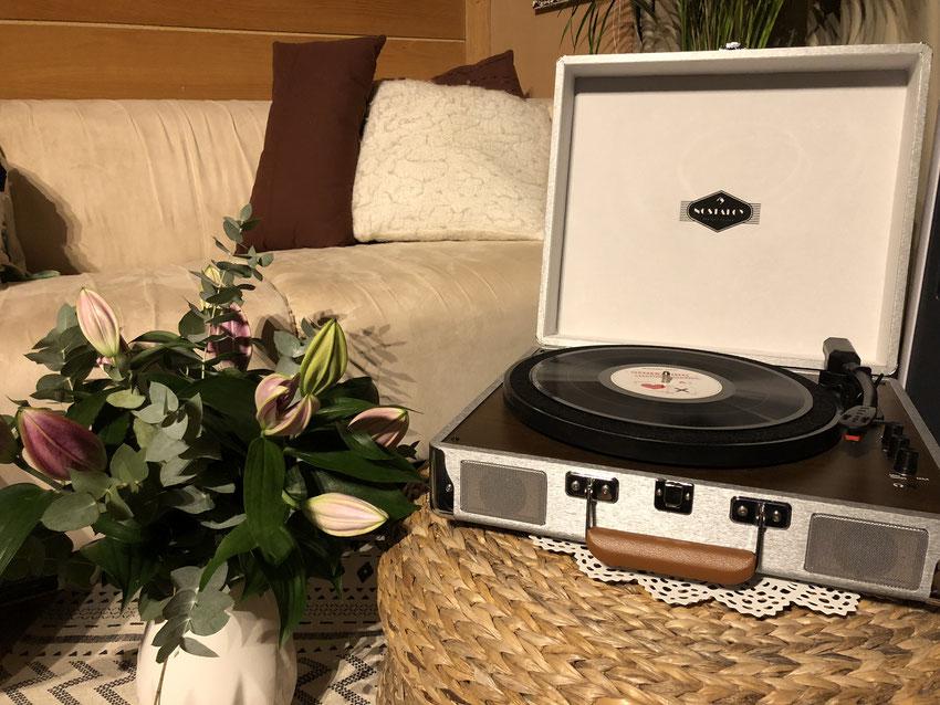 Produkttest Billy Bob Kofferschallplattenspieler - Auna