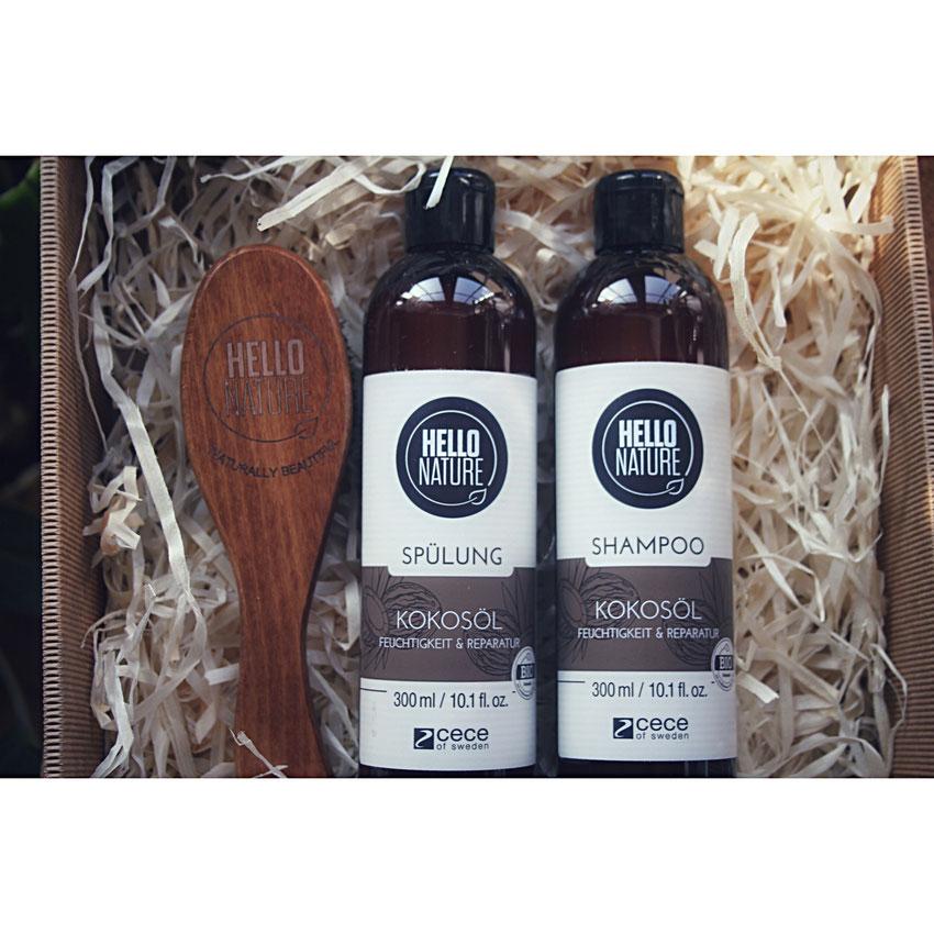 Hello Nature - Kokosöl Shampoo und Spülung