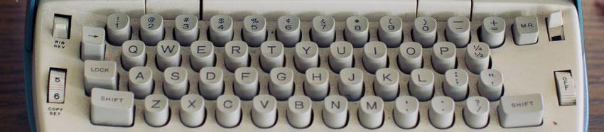image machine à écrire - blog marie fananas écrivain