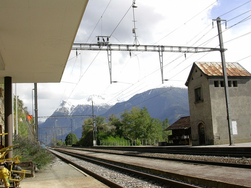 Bahnhof Ausserberg