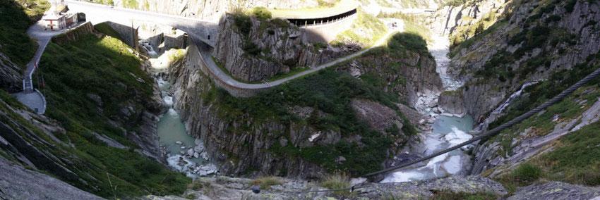 Via Ferrata Diavolo - Schöllenenschlucht mit Reuss