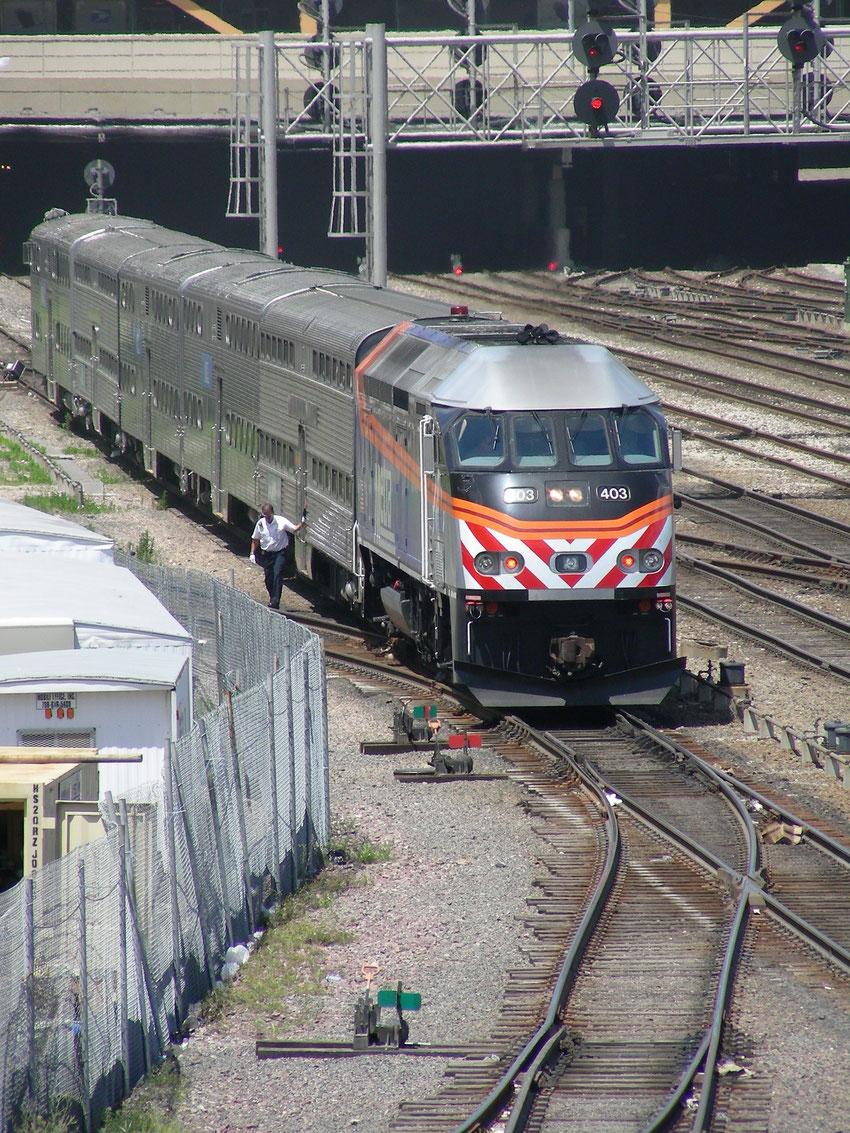Metra - Chicago Station
