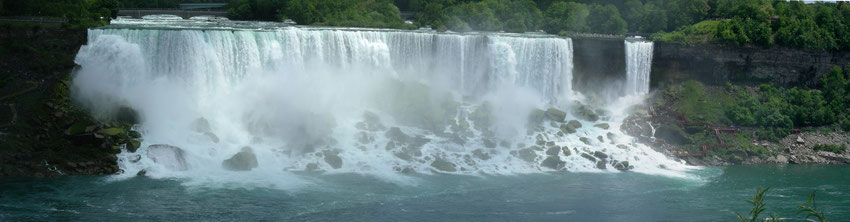 The American Falls - View from Canada