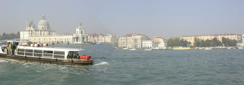 Punta della Dogana und Canal Grande, Venedig