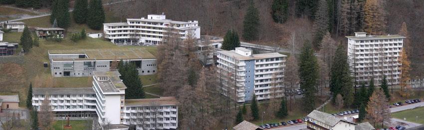 Hotelanlage und Therme Vals