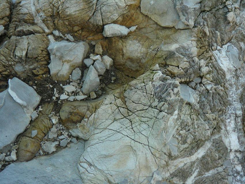 Steinformation am Stockhorn