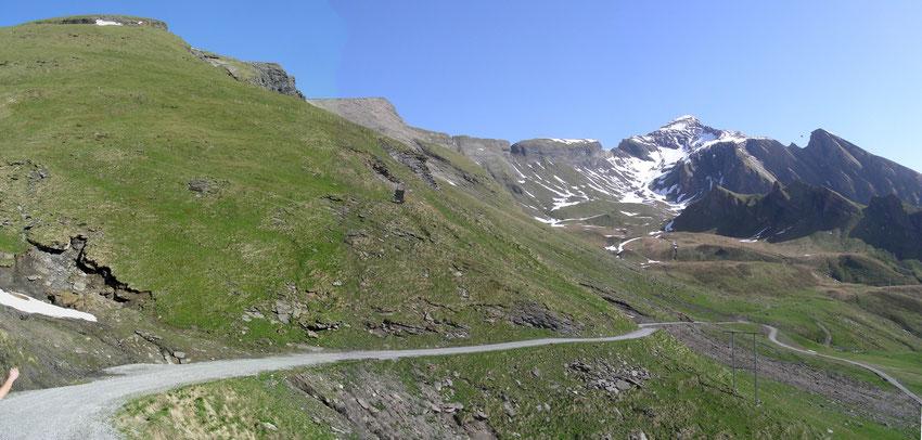 Weg zum Schwarzhorn