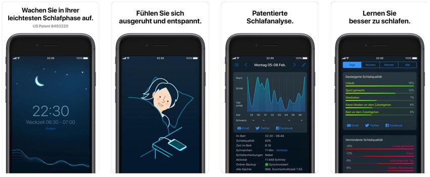 Schlafphasenwecker-App - Sleep Cycle alarm clock