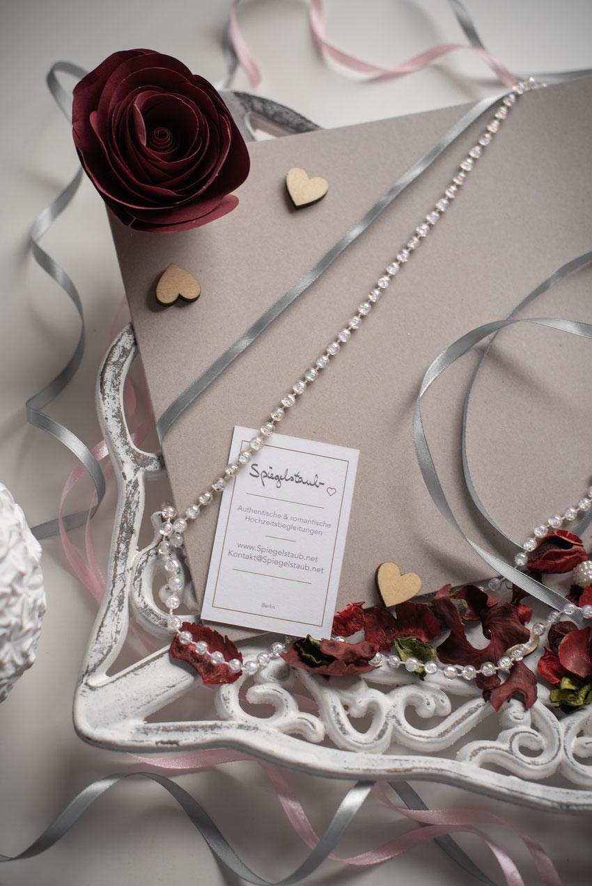 Prints gehören zu jeder Hochzeitsreportage ab 2 Stunden.