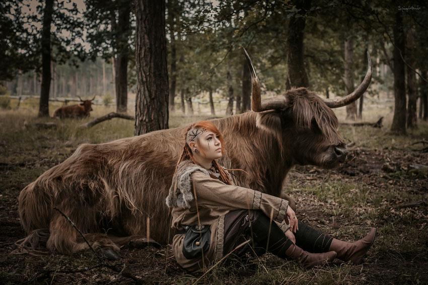 Das allererste von vielen Highland Märchen mit Mooncoon Art