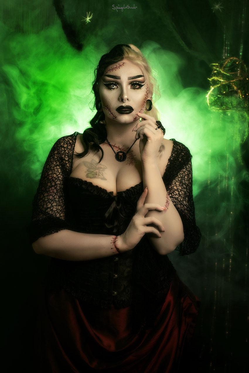 Frankensteins Braut bei mir im Studio? Ich verzaubere euch alle!