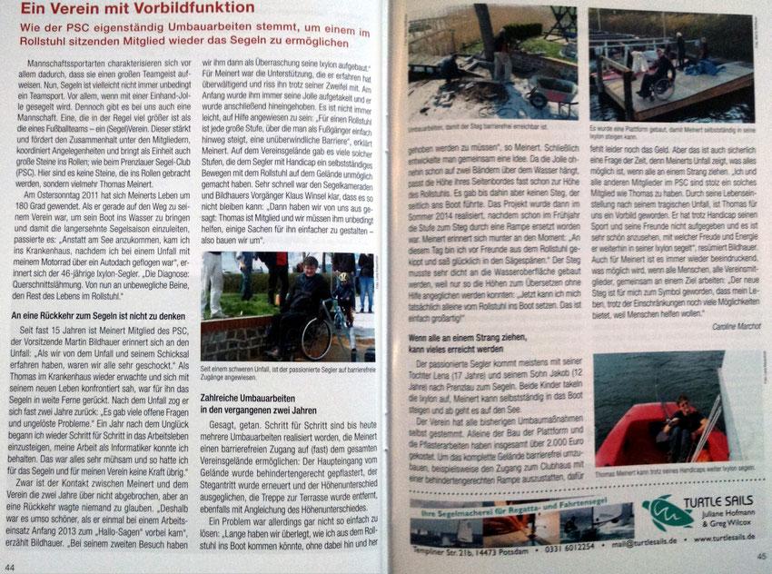 Segler-Verbände Berlin und Brandenburg - Infos und Regattakalender 2015