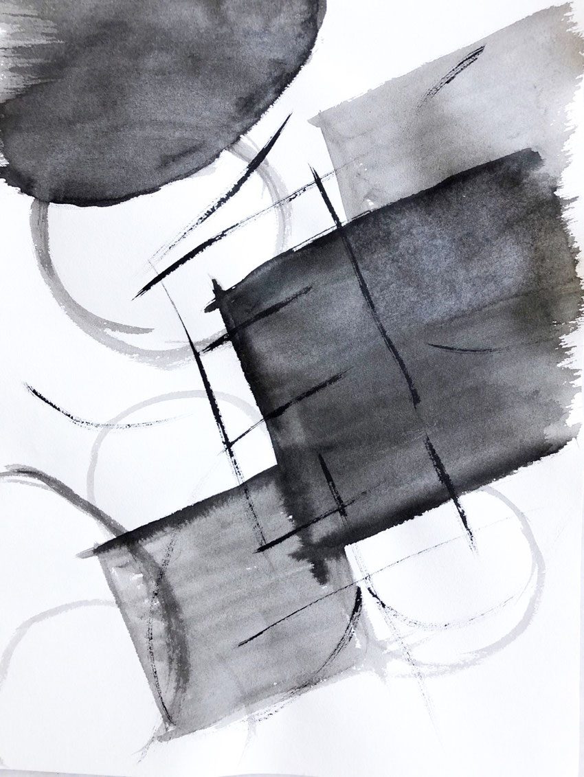 Japanese Calligraphy Intuitive Art, Azumi Uchitani,