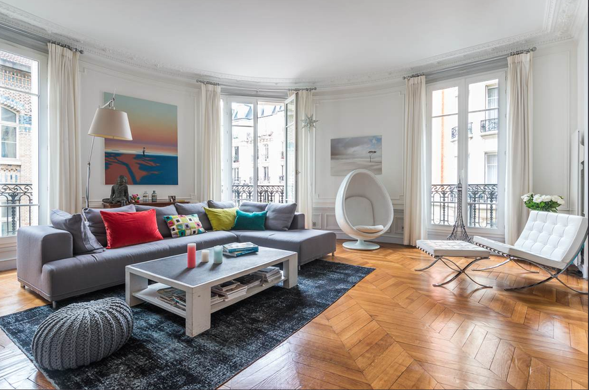 Stunning decoration appartement haussmannien images - Decoration appartement haussmannien ...