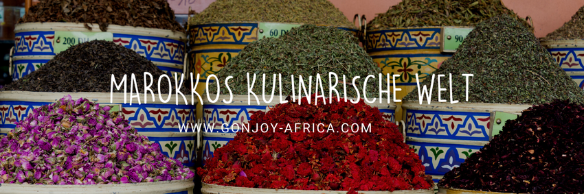 Marokko kulinarisch, Marokko Reise