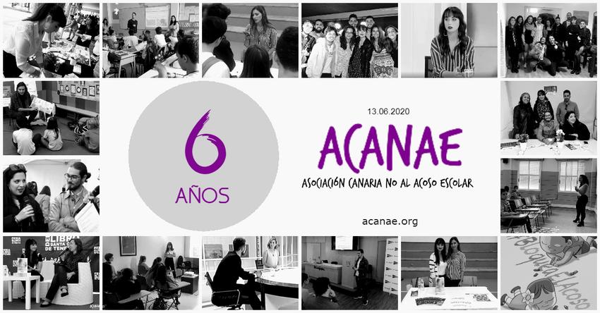 Sexto aniversario de la Asociación Canaria No Al Acoso Escolar
