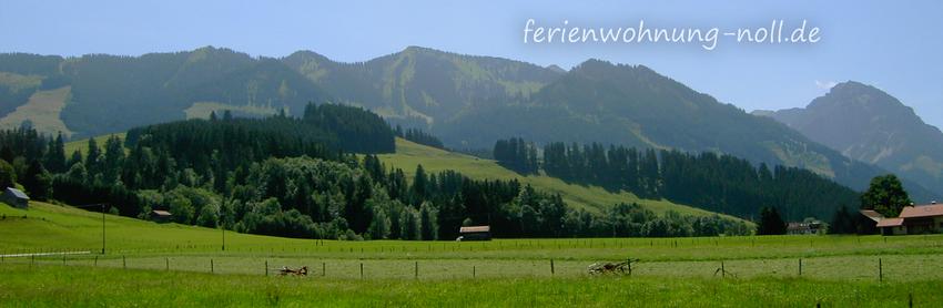 Ferienwohnung Noll: Allgäuer Berge