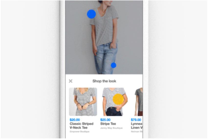 Shop the Look verbindet Pins und kaufbare Produkte