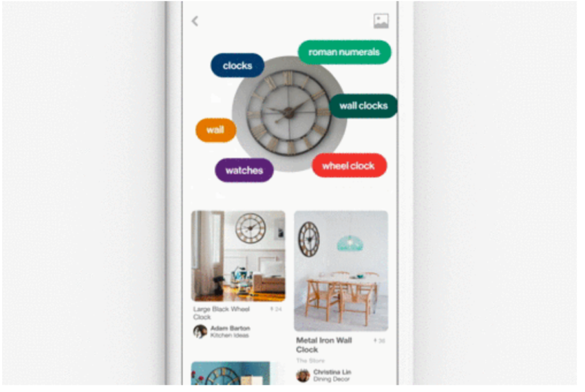 Pinterest Lens (beta) ermöglicht real world visual discovery