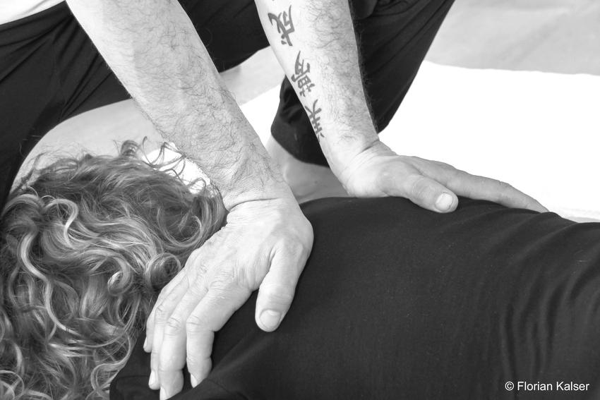 Shiatsu, Massage, sanfter Druck, Shiatsubehandlung