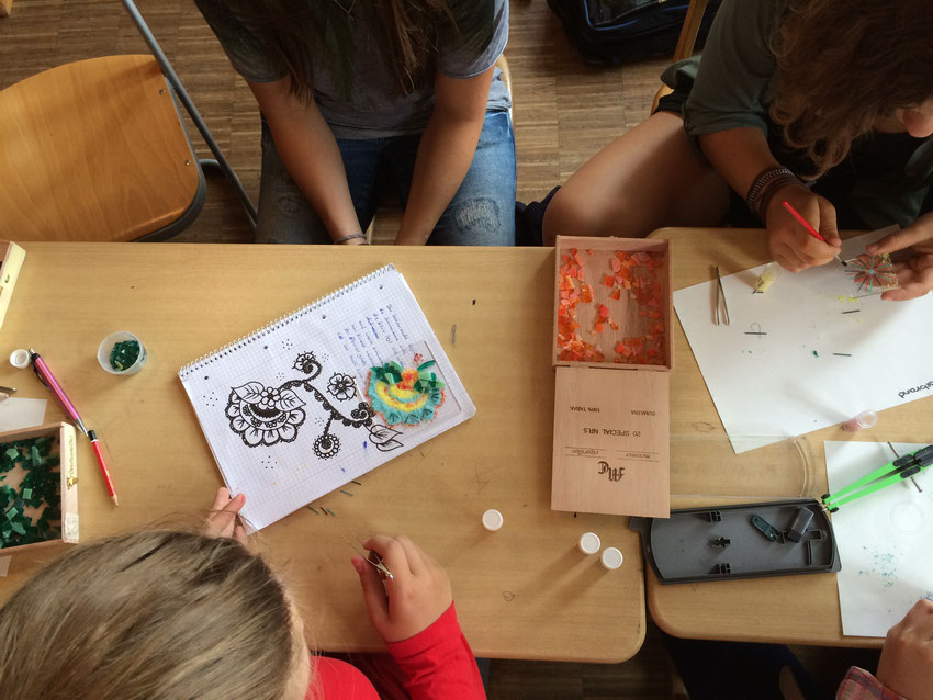 #klassenlehrerin #verabschiedung #erinnerung #andenken #selbermachen #geschenk #8.Klasse #waldorfschule #mannheim