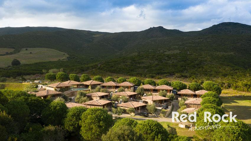 Korsika bietet wunderschöne Chalets zur Übernachtung