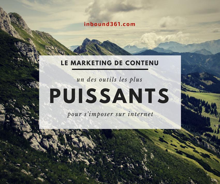Le marketing de contenu, un des outils les plus puissants pour s'imposer sur internet - cameroun - afrique - paul emmanuel ndjeng - inbound marketing - content marketing