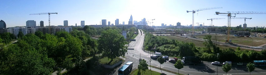 Frankfurt am Main - Gallus / Bockenheim - Europagarten / Europaviertel